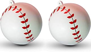 Set of 2 Gender Reveal Baseballs - 1 Ball for a Baby Boy - 1 Ball for a Baby Girl