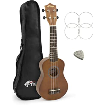 Tiger Ukelele Soprano Principiante Tiger con Estuche: Amazon.es: Instrumentos musicales