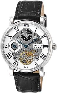 [ゾンネ]SONNE 腕時計 SONNNE×HAORI PRODUCED シルバー文字盤 自動巻 H013SV メンズ
