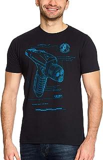 Star Trek Camiseta para Hombre Phaser Discovery Cotton Blue