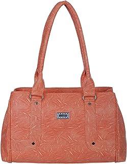 Janta PU Leather Women Shoulder Bag (Orange-3193)