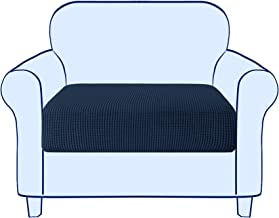 Subrtex Spandex Elastic Couch Stretch Durable Slipcover Furniture Protector Slip Cover for Settee Sofa Seat (Chair Cushion...