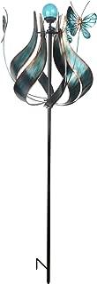 Peaktop Outdoor Kinetic Solar Light Wind Spinner Windmill, 73