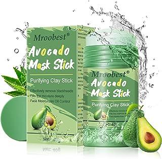 Avocado Mask Stick, Purifying Clay Stick Mask, Deep Cleansing Mask, reinigingsmasker, gezicht, oliecontrole, anti-acne-mas...
