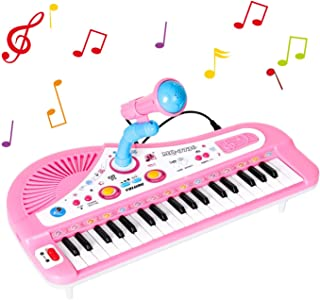 Shayson Piano for Kids, 37 Keys Electronic Kids Piano Keyboa