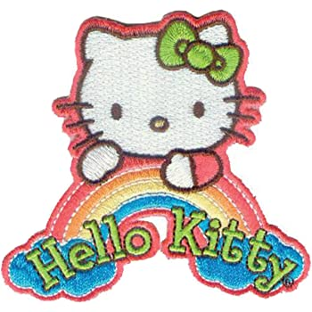 Hello Kitty Face Embroidered H023P