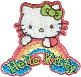 C&D Visionary Dreamrainb-Patch Hello Kitty, Acrylic, Multicolour, 11.43x14.98x0.25 cm