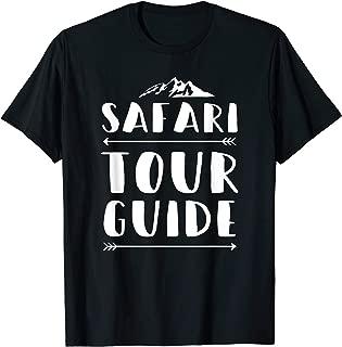 Safari Tour Guide Costume African Sahara Africa T-Shirt