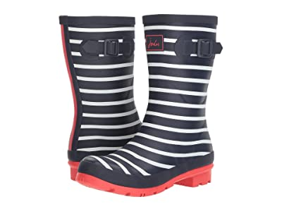 Joules Mid Molly Welly (French Navy Stripe) Women