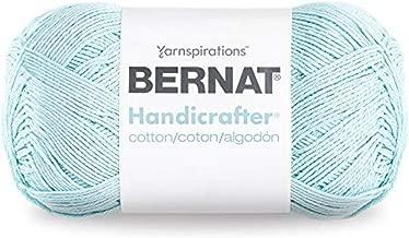 Bernat Handicrafter Cotton Yarn, 14 oz, 100% Cotton, Robin Egg