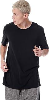 BodyTalk Men's T-Shirt With Round Neckline, Black, Small