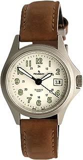 Peugeot Women Nurses Sport Wrist Watch - Easy Reader with Luminous Hands and Calendar Window