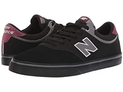 New Balance Numeric NM255 (Black/Burgundy) Men