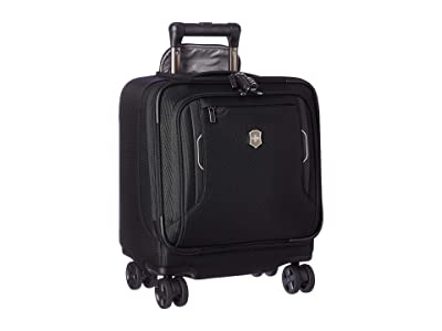 Victorinox Werks Traveler 6.0 Wheeled Boarding Tote (Black) Luggage