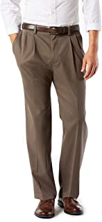 Men's Classic Fit Easy Khaki Pants - Pleated