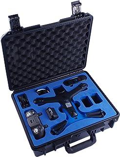 Skyreat wasserdichte Hartschalen Tragetasche, kompatibel mit Skydio 2 Drohne.