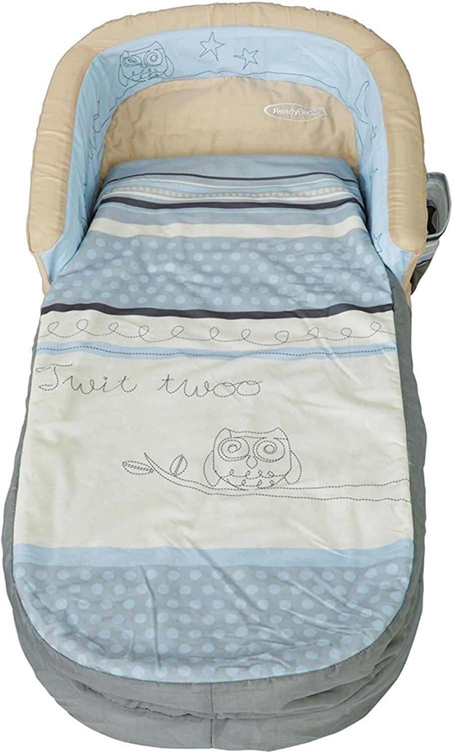 My First ReadyBed, Sleepytime Owl (bluee) by Words Apart, Ages 18 Months - 3 Years