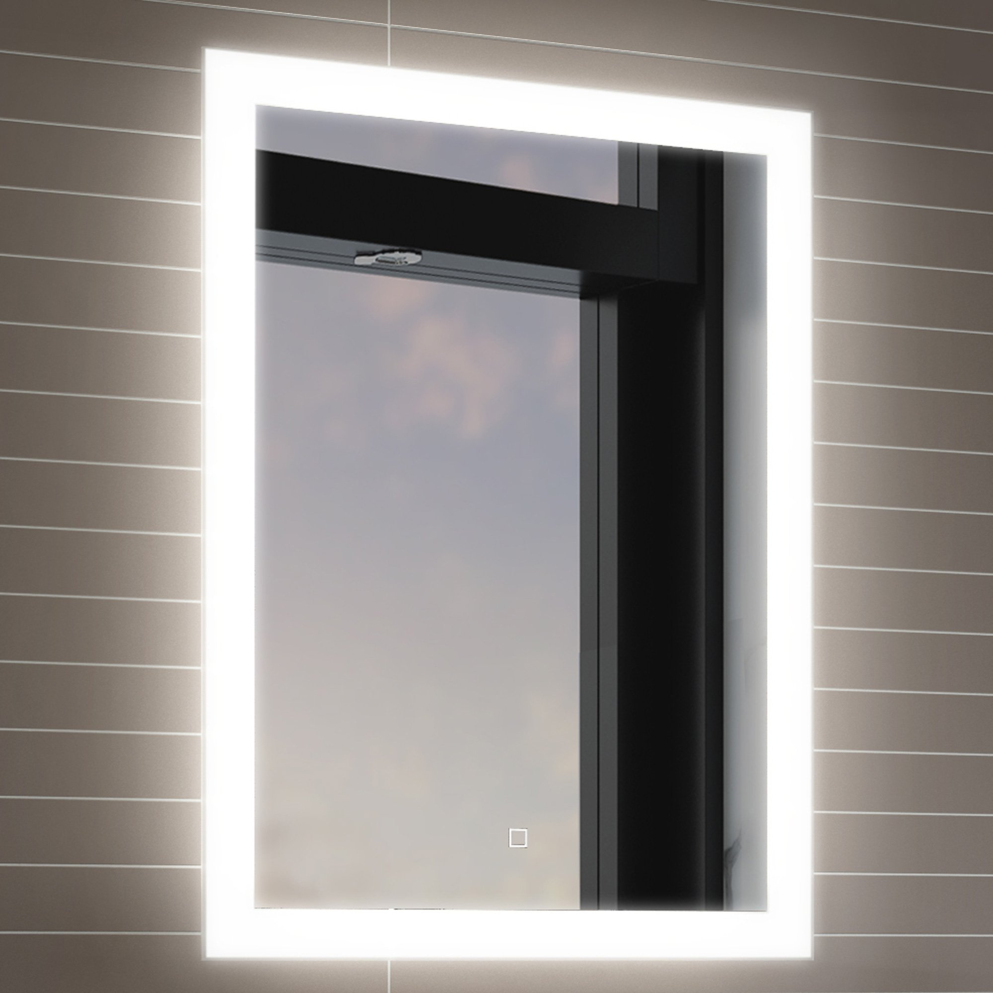 bathroom illuminated wall mirror amazon co uk rh amazon co uk