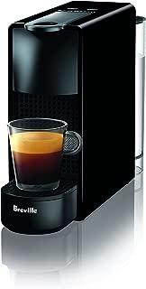 Nespresso Essenza Mini Original Espresso Machine by Breville, Piano Black (Renewed)