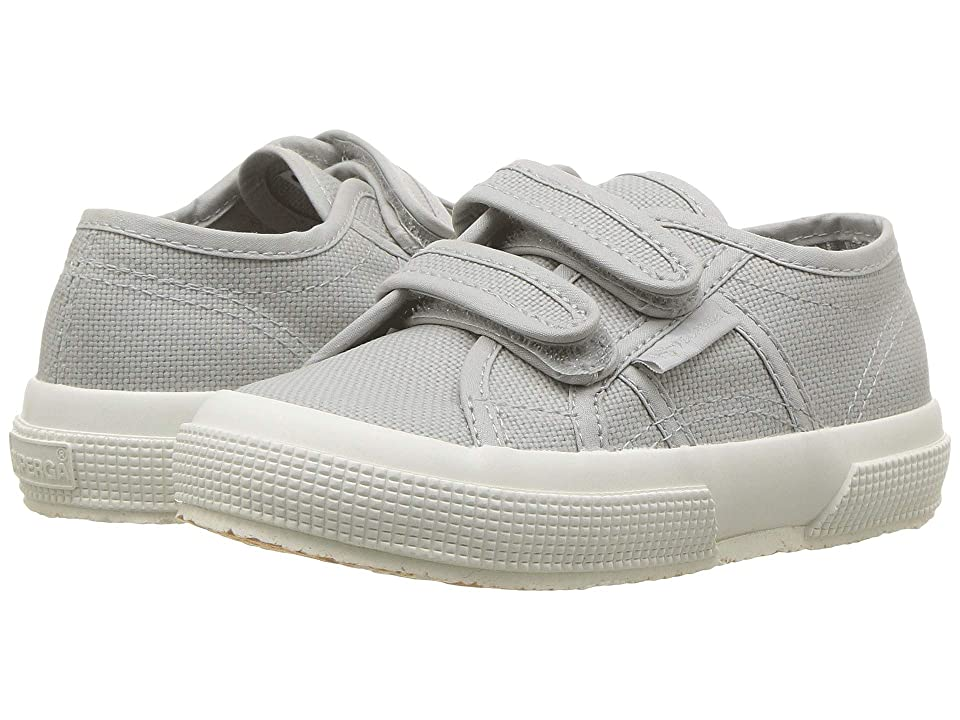 Superga Kids 2750 JVEL (Toddler/Little Kid) (Light Grey Full) Kid