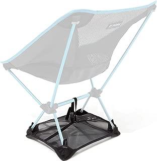 Helinox Chair Ground Sheet to Prevent Sinking in Soft Ground