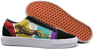 Imagine-Funny-Dragons-Radioactive- Men Skate Shoes Lace Up Shoe
