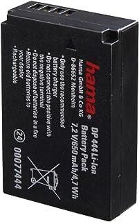 Hama Li Ion Akku DP 444 (für Canon LP E12, baugleich mit Canon LP E12) schwarz