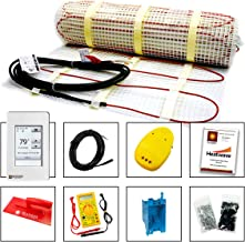 with Ground Fault Programmable Thermostat 32-60 Square Feet Heatwave Floor Heating Cable 240V