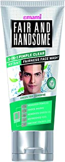 Fair and Handsome 5 in 1 Pimple Clear Instant Fairness Face Wash, 100g
