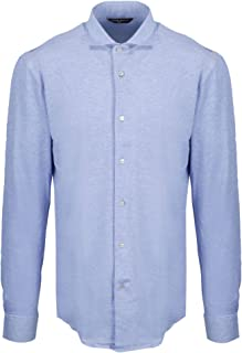 BRIAN DALES Luxury Fashion Mens ST8028BS58J2 Light Blue Shirt | Spring Summer 20