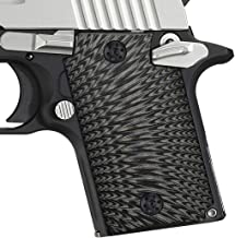 EXEL G10 Grips for Sig Sauer P938, Free Screws Included, Sunburst Texture