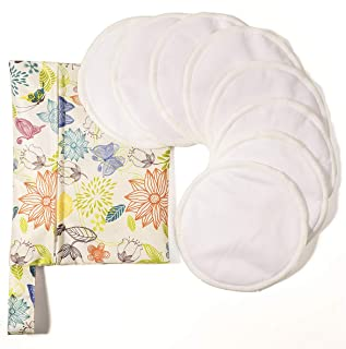 Organic Nursing Pads Washable Breast Pad Reusable Breastfeeding Pads