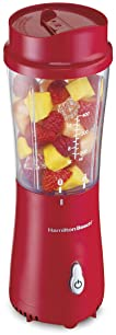 Hamilton Beach Personal Smoothie Blender with 14 oz Travel Cup and Lid