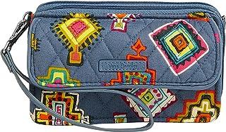 حقيبة RFID النسائية متعددة الأغراض من Vera Bradley بميدالية مطلية بطريقة متقاطع كروس كروس كروس ، مقاس واحد
