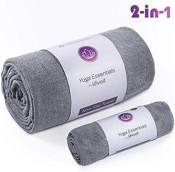 LEVOIT 2 in 1 Microfiber Yoga Mat Towel