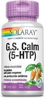 Solaray G.S. CALM 50 mg  5-HTP   60 VegCaps