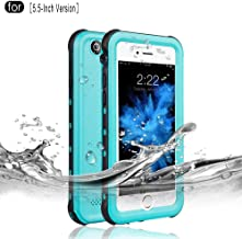 RedPepper iPhone 6 Plus/6s Plus Waterproof Case, IP68 Certified Drop Resistant Full Sealed Underwater Protective Cover, Shockproof, Snowproof and Dirtproof for Outdoor Sports