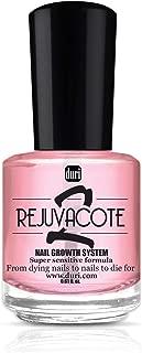 duri Rejuvacote 2 Nail Growth System, Super sensitive formula, Base and Top Coat, 0.61 fl.oz.