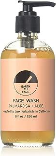 Earth tu Face Organic Palmarosa + Aloe Face Wash