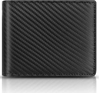 Sponsored Ad - Genuine Leather Wallets for Men, RFID Blocking Bifold Stylish Wallet With 2 ID Window