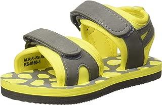 Chalk by Pantaloons Boy's Yellow Outdoor Sandals-8 Kids UK (25 EU) (880000982)