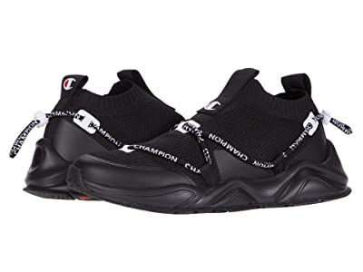 Champion Rally Flux Lo (Triple Black) Men
