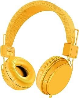 EINSKEY Kids Headphones, Foldable Lightweight Children Headset On Ear with Microphone for Boys Girls