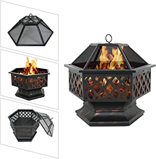 Best wood fire pit under covered patio Reviews