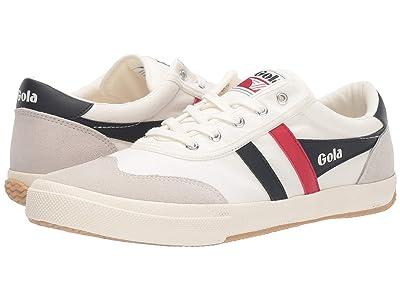 Gola Badminton (Off-White/Navy/Red) Men