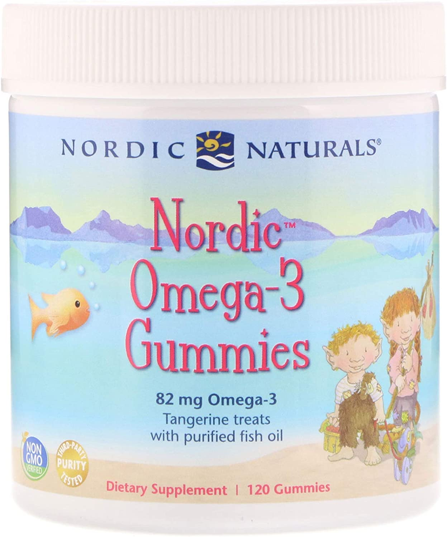 Nordic Naturals Nordic Omega 3 Gummies, 120 CT