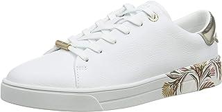 Ted Baker Women's TIRIEY Sneaker, White, 7 UK