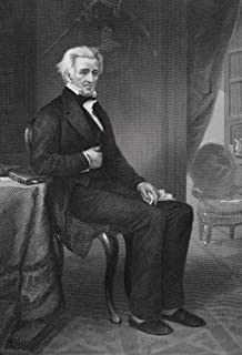 Posterazzi Andrew Jackson 1767 to 1845. 7Th President of The United States. from Painting Poster Print by Alonzo Chappel (24 x 34)