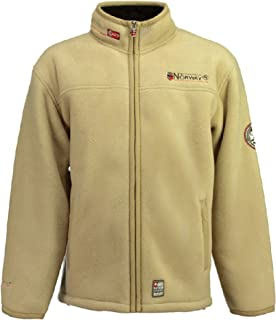 Geographical Norway Ureka Men's Fleece Jacket Fleece Jacket Warm Cozy Lining Lined Size S-XXXL