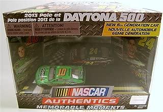 2013 DAYTONA 500 MEMORABLE MOMENTS DANICA PATRICK JEFF GORDON DIECAST RARE car # 10 and #24